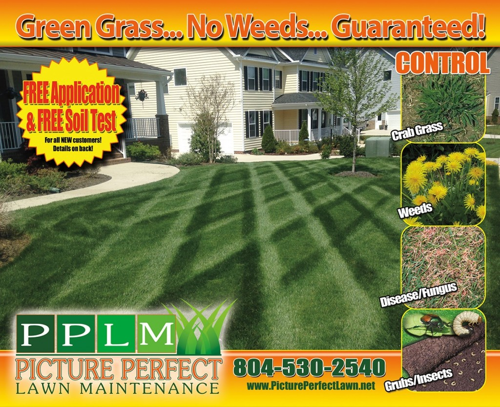Chesterfield VA Lawn Care Fertilization | Picture Perfect Lawn Maintenance | Colonial Heights, VA 23834 | (804) 530-2540